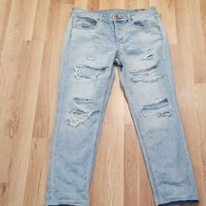 American Eagle TOMGIRL jeans size 8 Reg. NWT